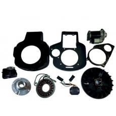 kit avviamento elettrico lombardini 6LD360/400 - 520/530