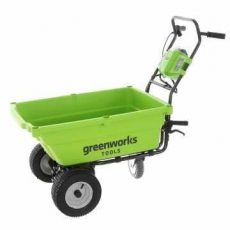 Carriola a batteria con ruote Greenworks G40GCK4